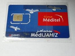 MAROC TELECARTE CARTE GSM SIM MEDITEL MédiJAHIZ   ///// B3 - Maroc
