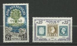 """Monaco YT 523 Et 525 """" 2 TP De L'année """" 1960 Neuf** - Nuevos"""