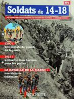 Revue Figurine, Soldat De Plomb. Collection Hachette Soldats 14-18 N° 01 - Le Poilu - Soldados De Plomo