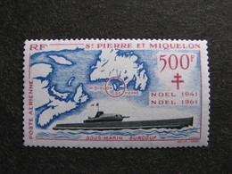 A). Saint Pierre Et Miquelon: PA N°28, Neuf XX. - Poste Aérienne