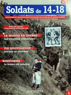 Revue Figurine, Soldat De Plomb. Collection Hachette Soldats 14-18 N° 05 - Zouave - Soldados De Plomo