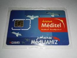 MAROC TELECARTE CARTE GSM SIM MEDITEL MédiJAHIZ   ///// B4 - Maroc