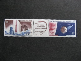 Saint Pierre Et Miquelon: TB Bande PA N°34A, Neuve XX. - Poste Aérienne
