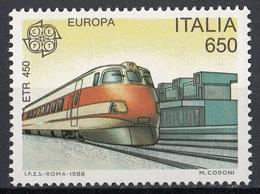 "Italia 1988 Blf. 1946 Treno  ""Elettrotreno ETR450"" Nuovo MNH - Sparrows"