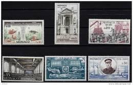 """Monaco YT 526 à 531 """" 50 Ans Du Musée Océanographique """" 1960 Neuf** - Nuevos"""