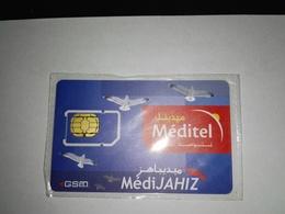 MAROC TELECARTE CARTE GSM SIM MEDITEL MédiJAHIZ   ///// B5 - Maroc