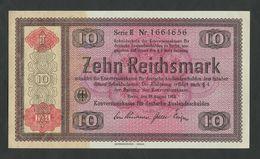 GERMANY - 10 Reichsmark  1934  P208  I - Kassenfrisch / Uncirculated  ( Banknotes ) - [ 4] 1933-1945 : Troisième Reich