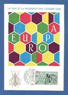 Espana / Spanien 1962 Mi.Nr. 1341 , EUROPA CEPT - Maximum Card - Madrid 13 - SET. 1963 - Europa-CEPT