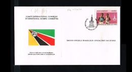 1980 - Mozambique FDC - Sport - Olympics - Moskou [FH123] - Mozambique