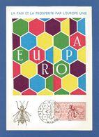 Espana / Spanien 1962 Mi.Nr. 1340 , EUROPA CEPT - Maximum Card - Madrid 13 - SET. 1963 - Europa-CEPT