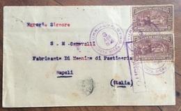 COSTA RICA BUSTA DA  TURRIALBA A NAPOLI ITALIA IN DATA 3/4/19826 - Bolivia