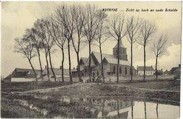 AUTRYVE - Avelgem - Zicht Op De Kerk En De Oude Schelde - Avelgem