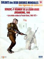 Revue Figurine, Soldat De Plomb. Collection DelPrado 2 Guerres Mondiales N° 94 - Sergent Légion Arabe Jordanie 1948 - Soldats De Plomb