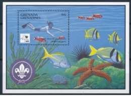 Grenade Grenadines  1995 Scuba Diving Plongée Souvenir Sheet - Autres