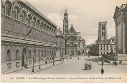 Bibliothèque Sainte Geneviève, Saint Etienne Du Mont Et La Tour Clovis - Bibliothèques
