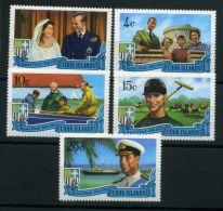 COOK/ISLAND ( POSTE ) Y&T N°  262/266  TIMBRES  NEUFS  SANS  TRACE  DE  CHARNIERE , A  VOIR . - Cook