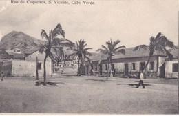 S. VINCENTE, CABO VERDE. RUA  DE COQUEIROS - Cape Verde