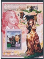 Guinée 2008 Nobel  Bill CLINTON Marilyn MONROE Dogs Chiens - Nobel Prize Laureates