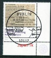 GERMANY  Mi.Nr.3277 Die Bibel In Der Übersetzung Martin Luthers - ESST Berlin -Eckrand Unten Rechts  -  Used - BRD