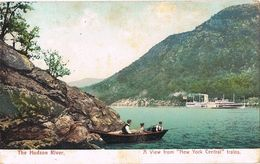 27758. Postal The HUDSON RIVER (NY) View New York Central - NY - New York