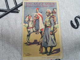 ENGAGEZ VOUS - Afrique Du Nord . Maroc . Levant - Documenten