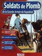 Revue Figurine, Soldat De Plomb. Coll. Atlas Gde Armée Napoléon N° 47 Dragon D'élite 13ème Régiment - Soldados De Plomo