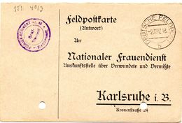 Tarjeta  Con  Franquicia Militar  Regimiento De Fusileros Nº 40 . Año 1918 - Cartas