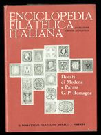 Enciclopedia Filatelica Italiana - III - Ducati Di MODENA E PARMA - G.P. ROMAGNE - IT. - Motive