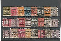 50123 ) Collection Precancel - Stati Uniti