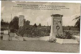 Monceau-sur-Sambre  Les Monument Du Cimetiere - Zonder Classificatie