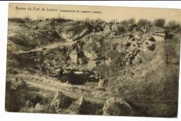 Ruines De Fort De Loncin   Emplacement Du Magasin A Poudre - Ans