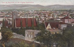BEYROUTH - VUE DE L'EGLISE AMERICAINE - Lebanon