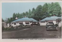 Postcard - Bluebird Tourist Court, Port Alberni, B.C, Canada - Card No. 34 - VG - Cartes Postales