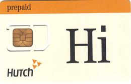 INDIA - Hi HUTCH GSM Card , Mint - India