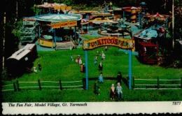Postcard - The Fun Fair Model Village Great Yarmouth - Card No.7877 - VG - Postales