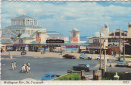 Postcard - Wellington Pier, Great Yarmouth - Card No.7875 - VG - Cartoline