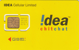 INDIA - Idea Yellow ,GSM Card , Mint - India