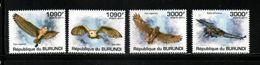 OISEAUX    République  Du BURUNDI    N° ? ?  Chouettes   Année 2011   NEUF - Collections, Lots & Series