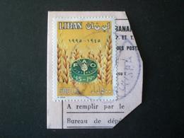 LEBANON لبنان LIBAN  1996 Anniversaries And Events Of 1995 Fragmant - Lebanon