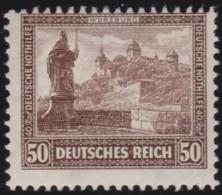Deutsches  Reich   . Michel   .   449       .    *    .   Ungebraucht Mit Falz   .   /  .   Mint-hinged - Ungebraucht