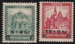 Deutsches  Reich   . Michel   .   463/464       .    *    .   Ungebraucht Mit Falz   .   /  .   Mint-hinged - Ungebraucht