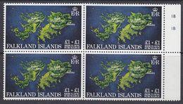 Falkland Islands 1982 Rebuilding Fund 1v Bl Of 4  ** Mnh (37838A) - Falklandeilanden