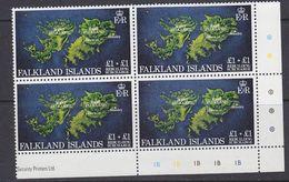Falkland Islands 1982 Rebuilding Fund 1v Bl Of 4 (corner)  ** Mnh (37838B) - Falklandeilanden