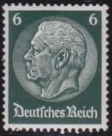 Deutsches  Reich   . Michel   .    484         .    **    .   POSTFRISCH     .   /  .    MNH - Ungebraucht