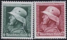 Deutsches  Reich   . Michel   .   569/570        .    **    .   POSTFRISCH     .   /  .    MNH - Ungebraucht