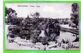 URUGUAY - MONTEVIDEO - Prado - Lago - Formato Piccolo - Pequeño Formato - Uruguay