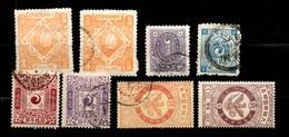 Corée Huit Timbres Anciens 1895/1903. Bonnes Valeurs. B/TB. A Saisir! - Korea (...-1945)
