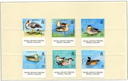 FALKLAND ISLANDS / Oiseaux Divers Superbe Série De 6 Valeurs Dentelées MNH Cote 20.00 Vente 5.00 Euros - Falklandinseln