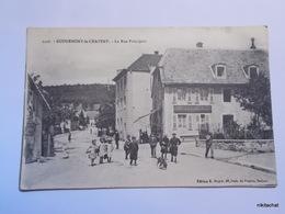 ROUGEMONT LE CHATEAU-La Rue Principale - Rougemont-le-Château