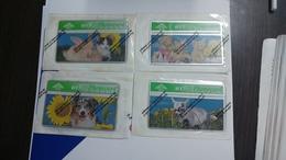 United Kingdom-(btc133-136)spring In The Air(4cards)(50units)-(mint)-price Cataloge8.00£-card+1card Prepiad Free - United Kingdom